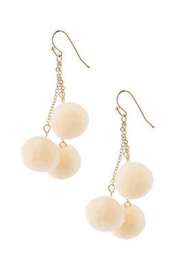 Type 1 Pom Pom Pretty Earrings