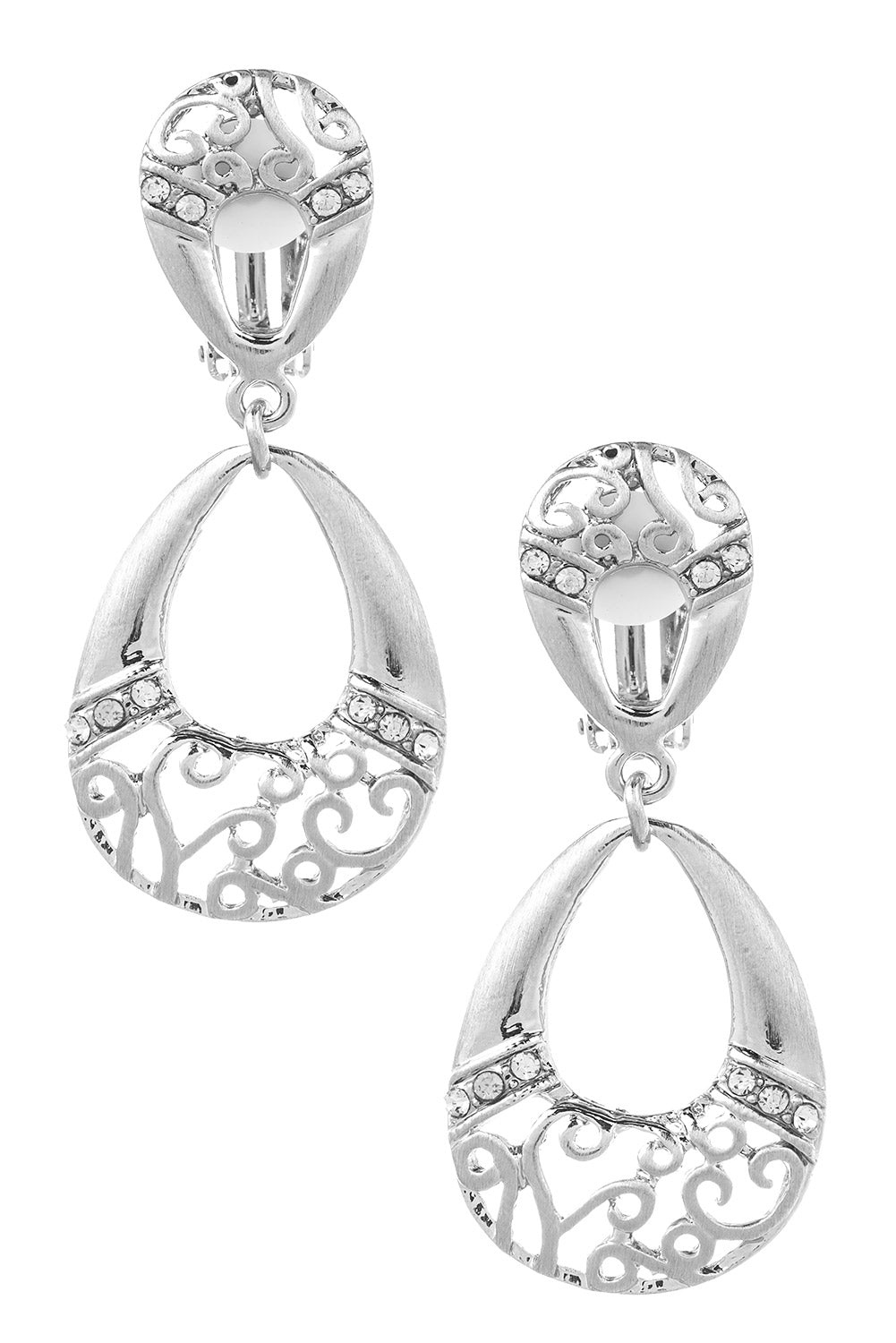 Type 2 Double the Love Clip-On Earrings