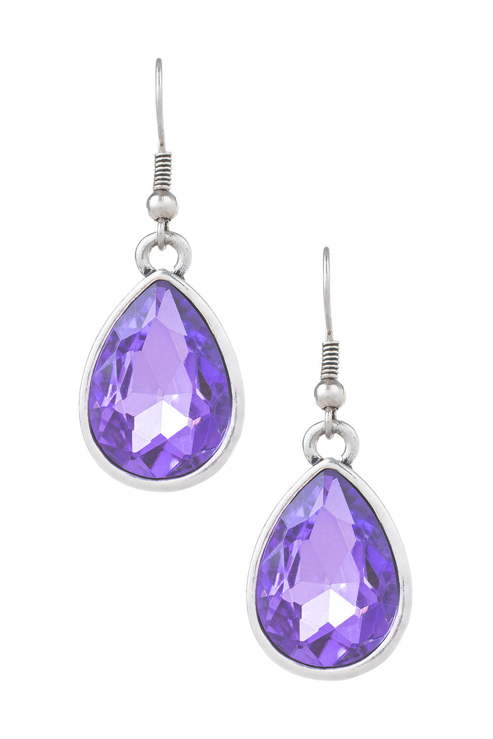Type 4 Amethyst Teardrops Earrings