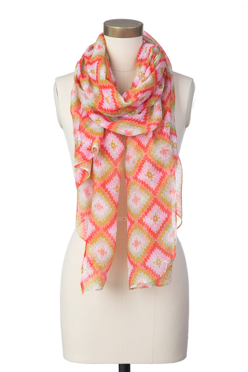 Type 3 Fields of Coral Scarf