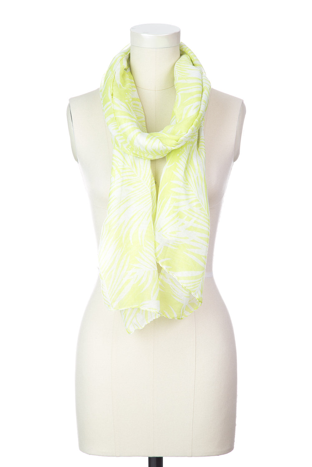 Type 1 Palm Fronds Scarf