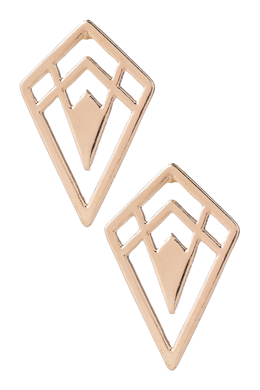 Type 3 Golden Spike Earrings