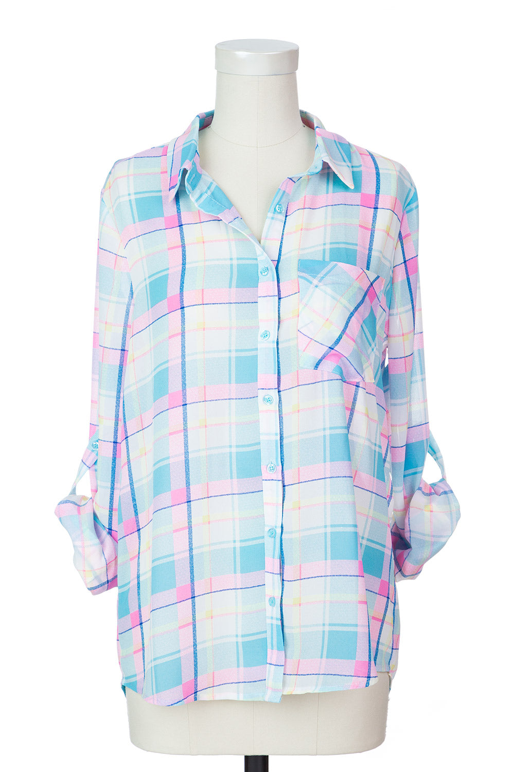 Type 1 Rad Plaid Top