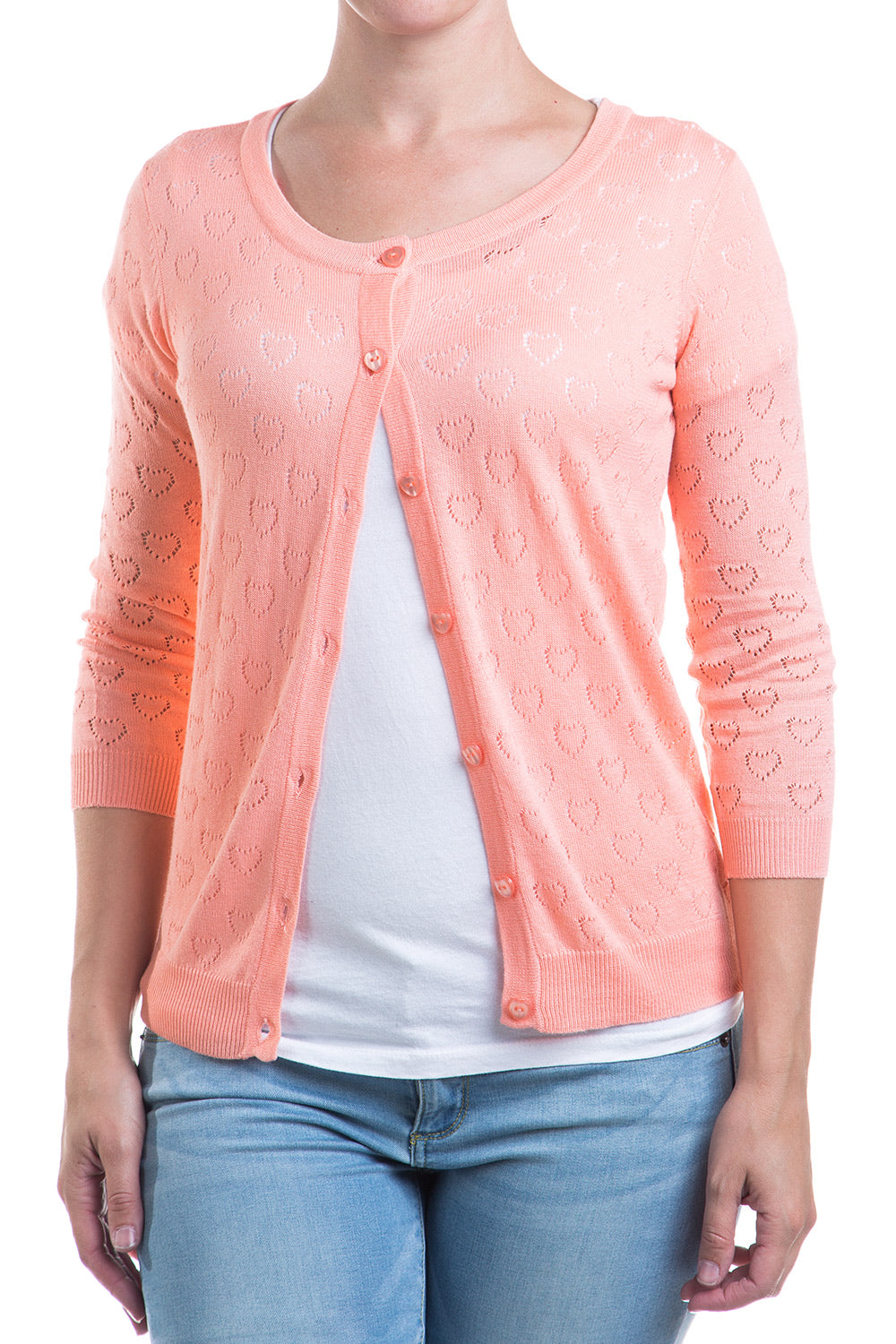 Type 1 Just Peachy Cardigan