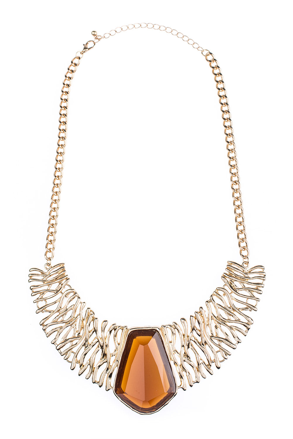 Type 3 Amber Barricade Necklace