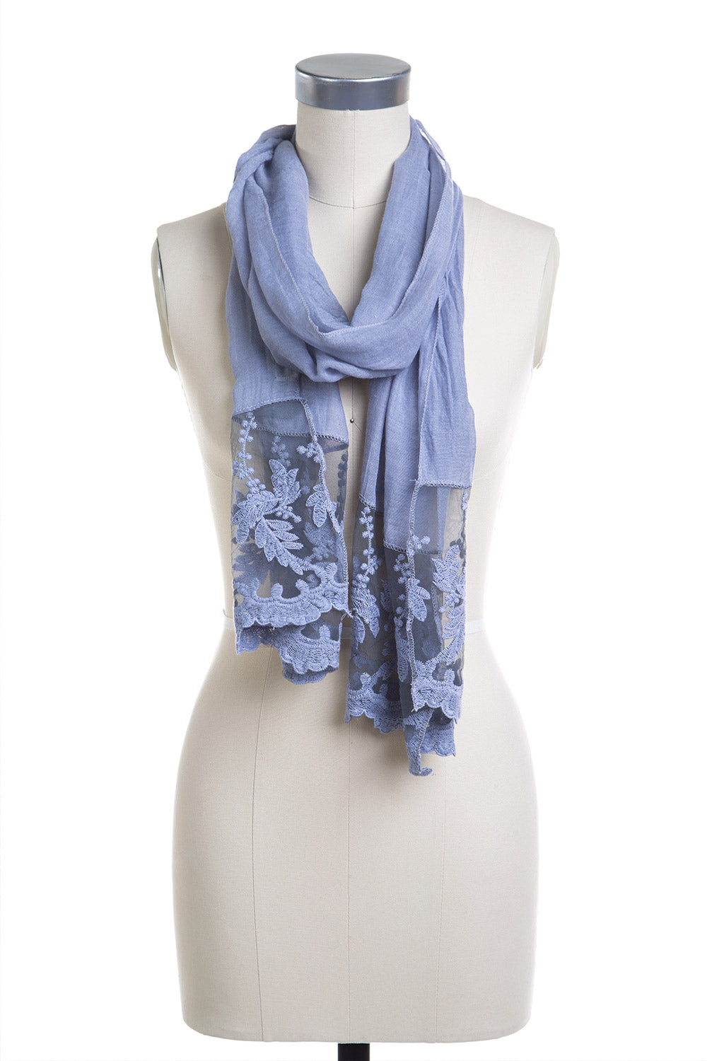 Type 2 Oyster Blue Scarf