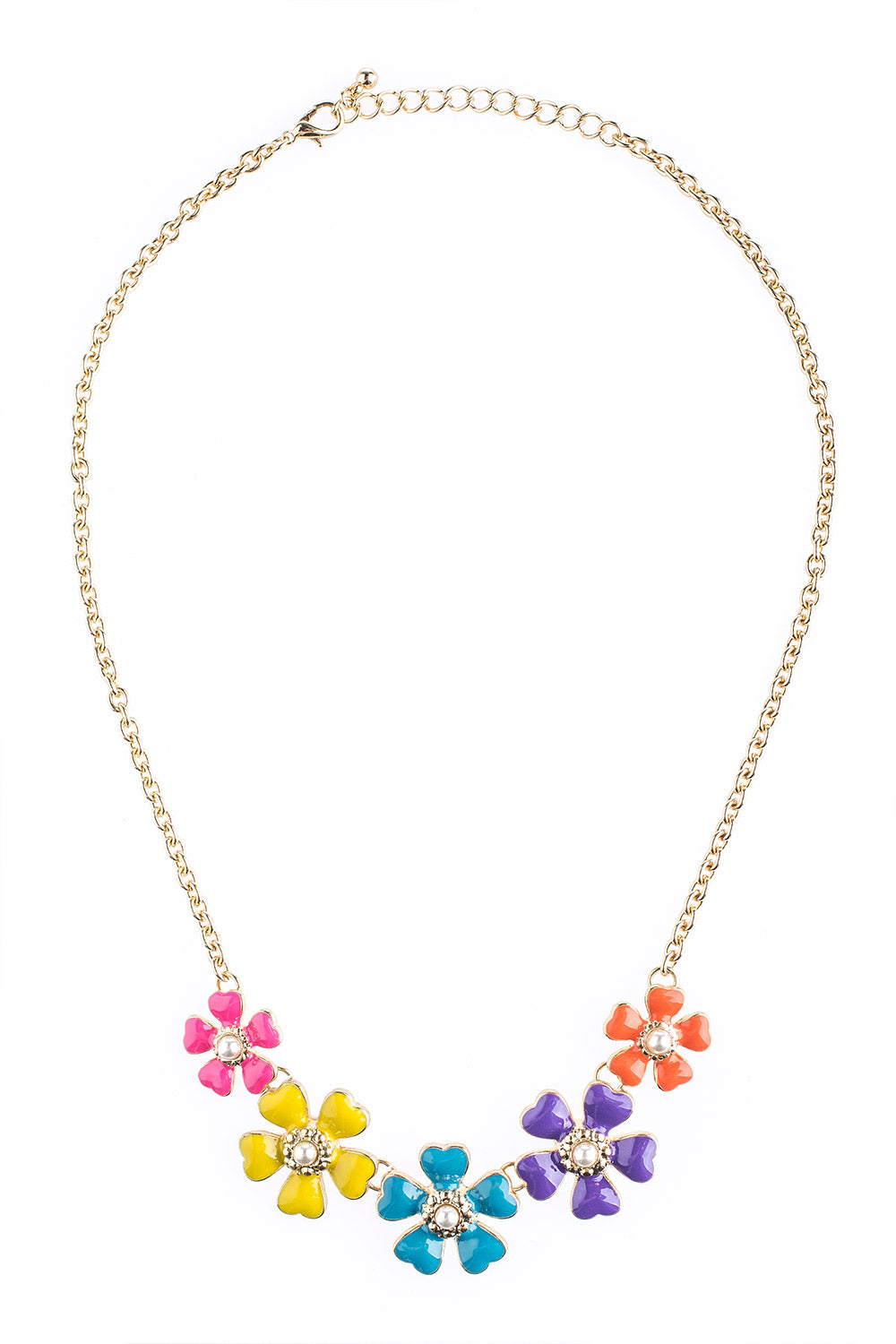 Type 1 Friendly Flowers Necklace