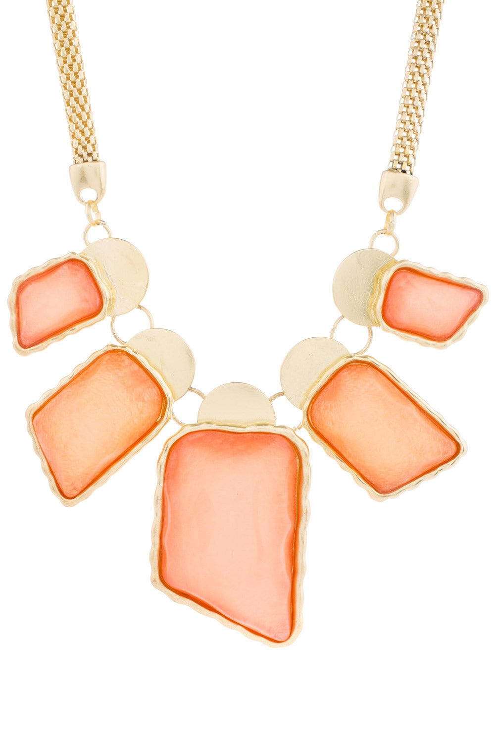 Type 3 Intense Peach Necklace