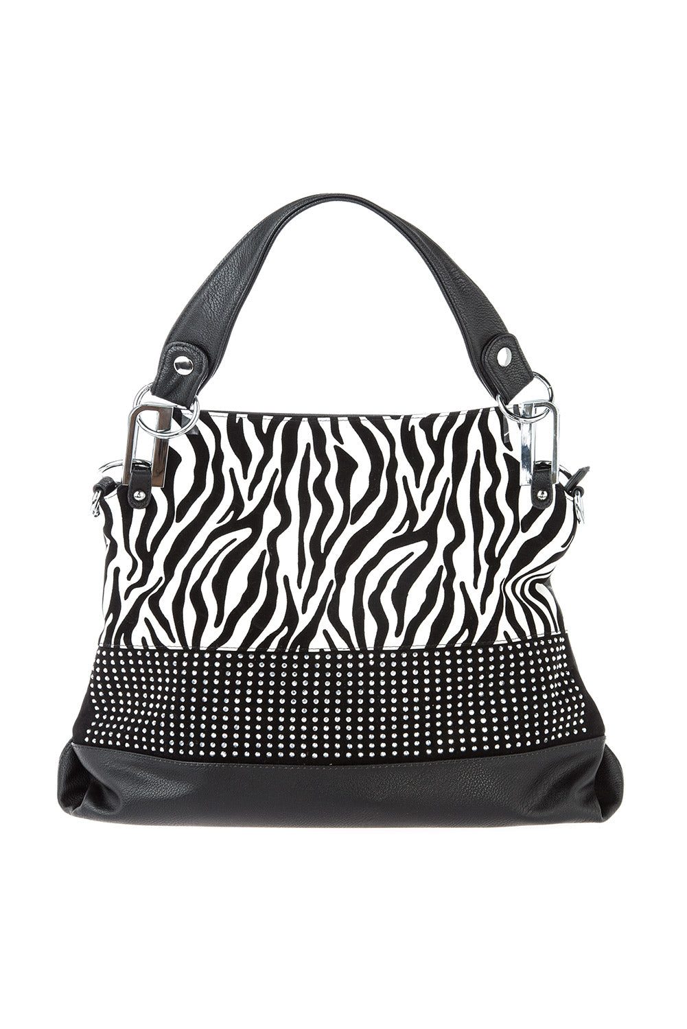 Type 4 Reflective Zebra Handbag