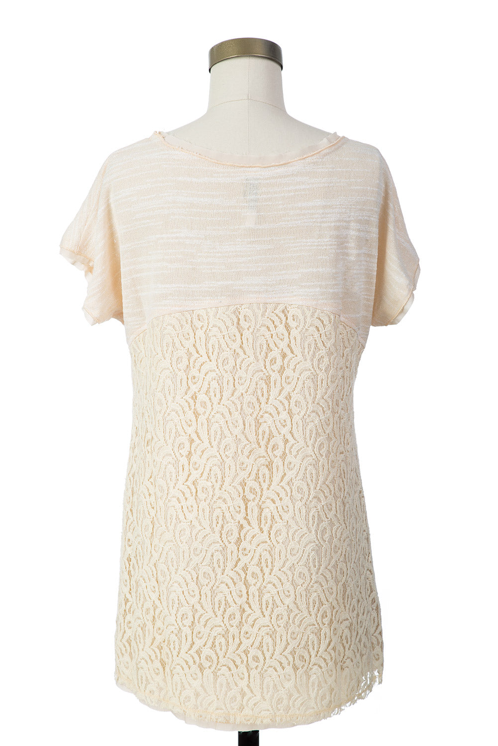Type 3 Raw Lace Top