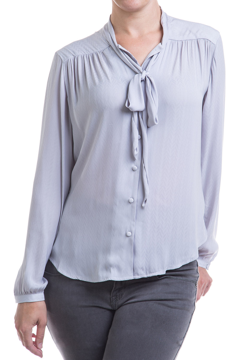 Type 2 Lady Like Top in Gray
