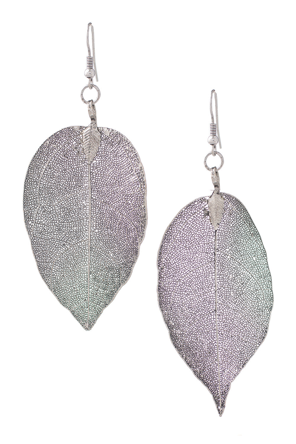 Type 2 Leaf From The Book Of Time Earrings