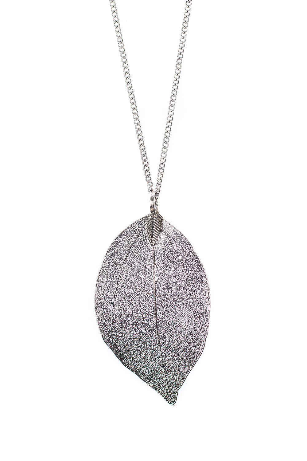 Type 2 Leaf From The Book Of Time Necklace