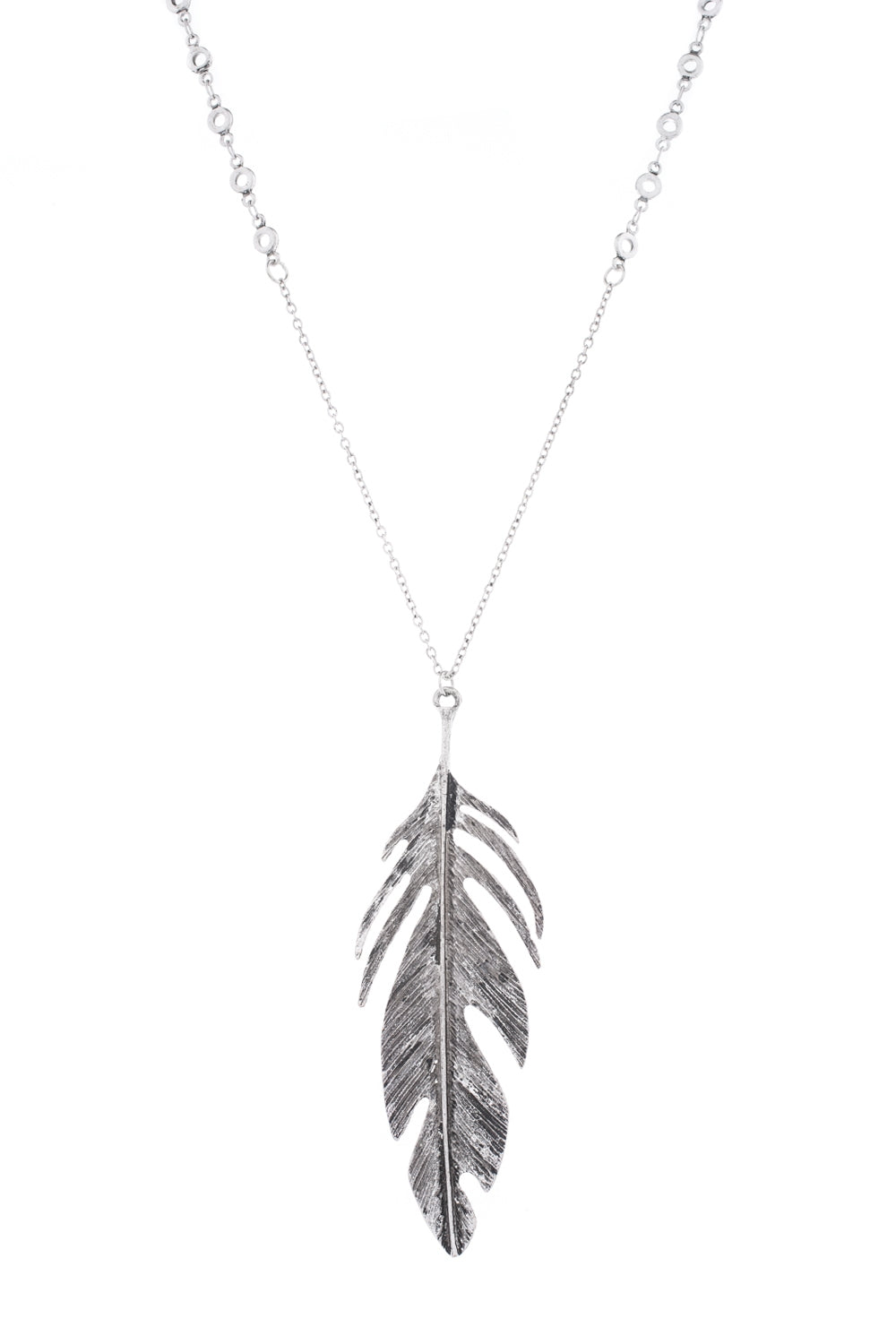 Type 2 Delicate Feather Necklace