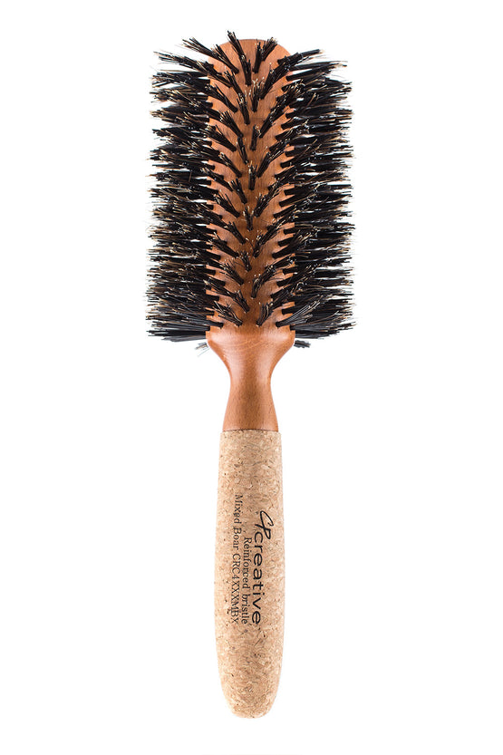 Cork And Birchwood Hairbrush- Large