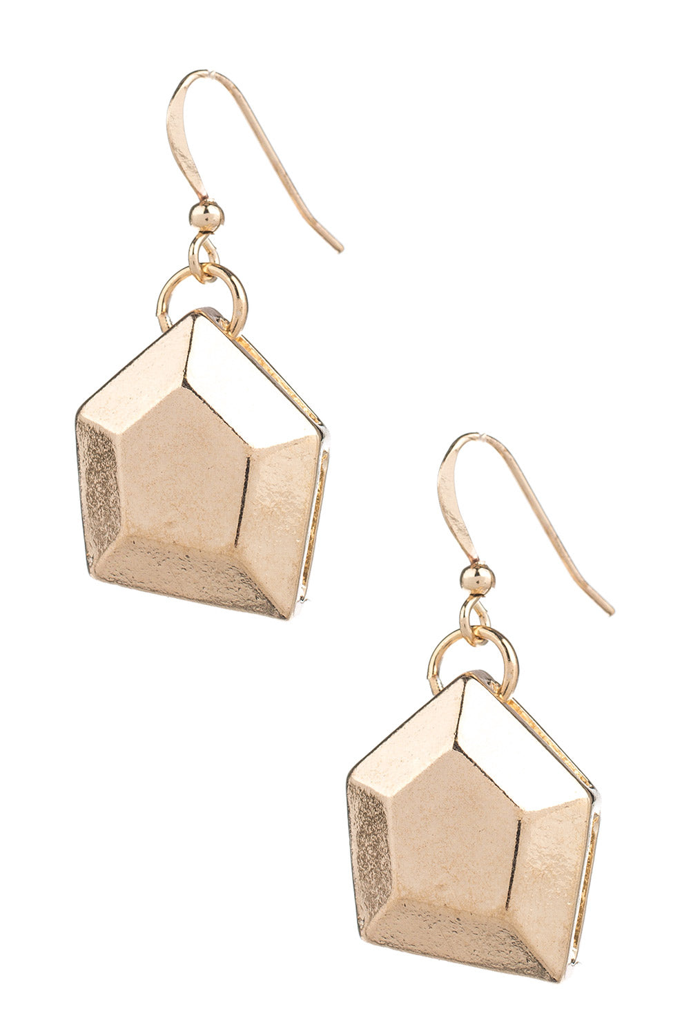 Type 3 Nuggets of Gold Earrings