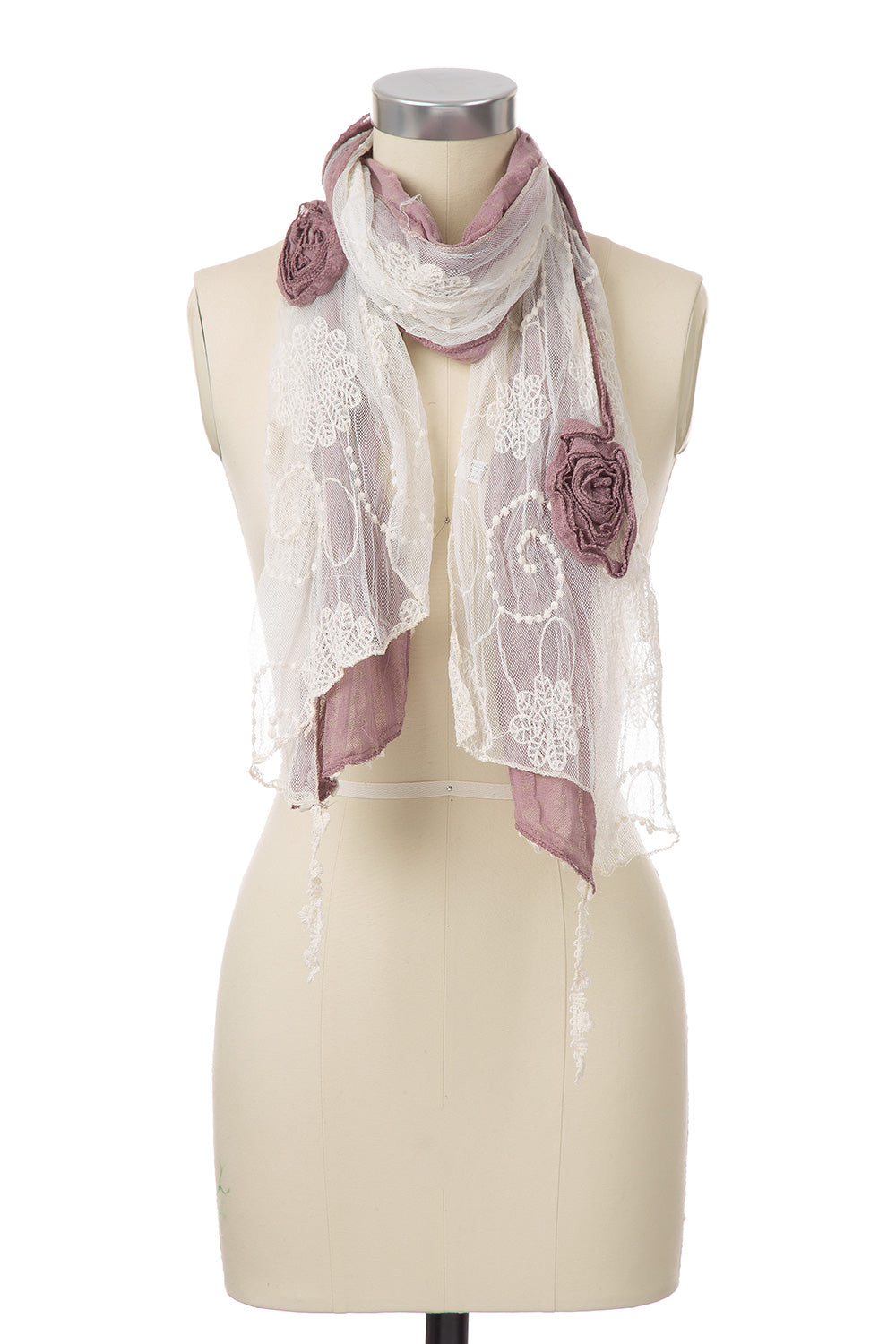 Type 2 Winter Flowers Scarf