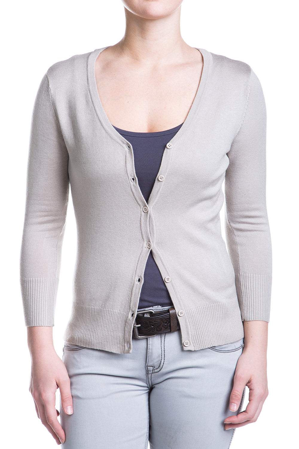 Type 2 Light Grey Cardigan