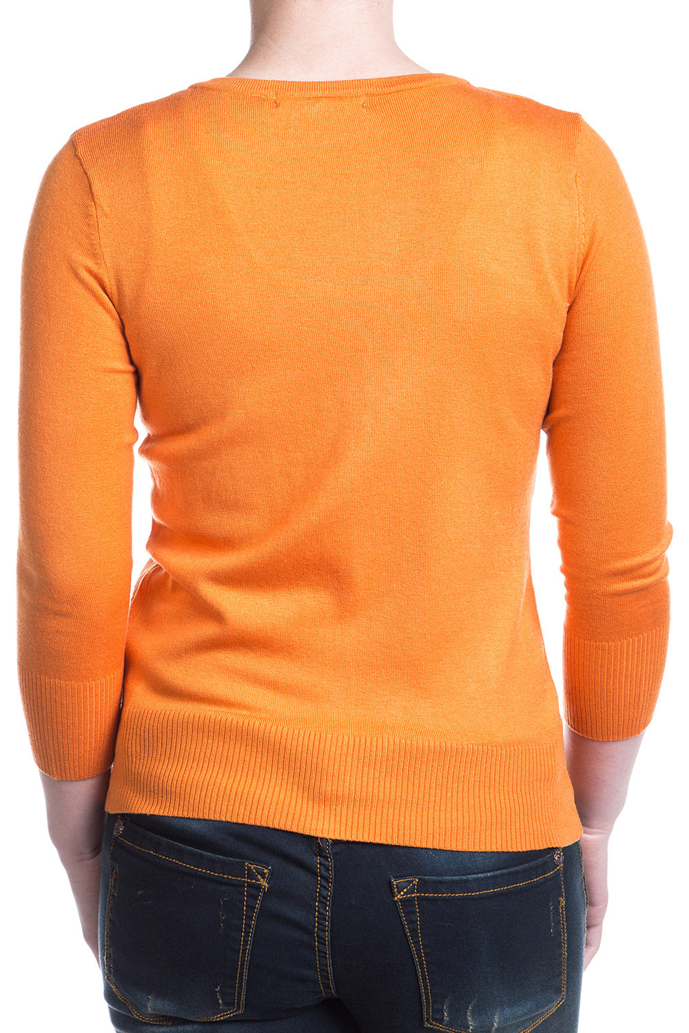 Type 3 Light Orange Cardigan