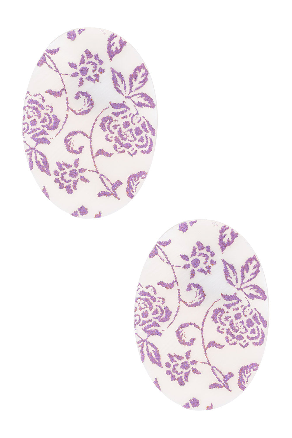 Type 2 Lilac Vines Earrings