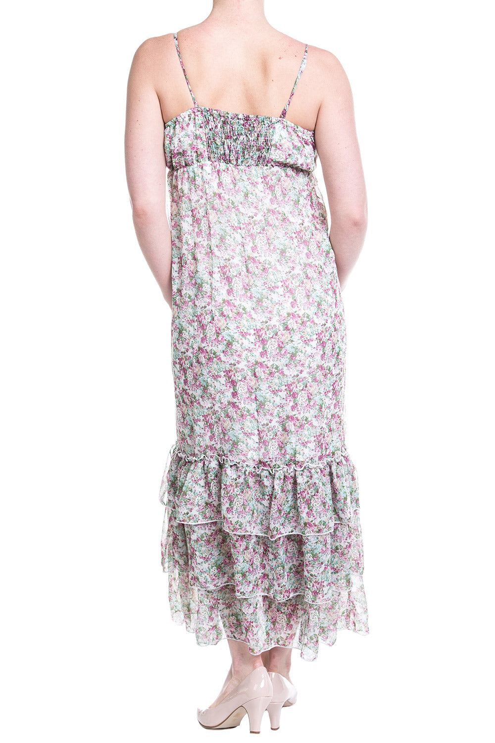 Type 2 Royal Floral Maxi Dress