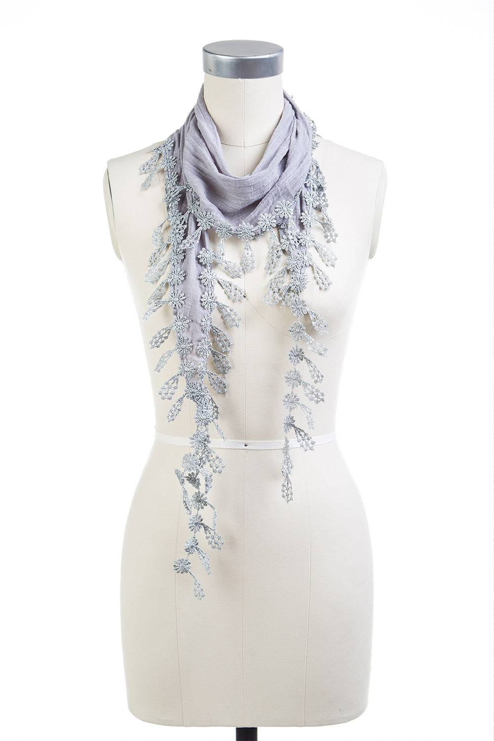 Type 2 Whispering Gray Scarf