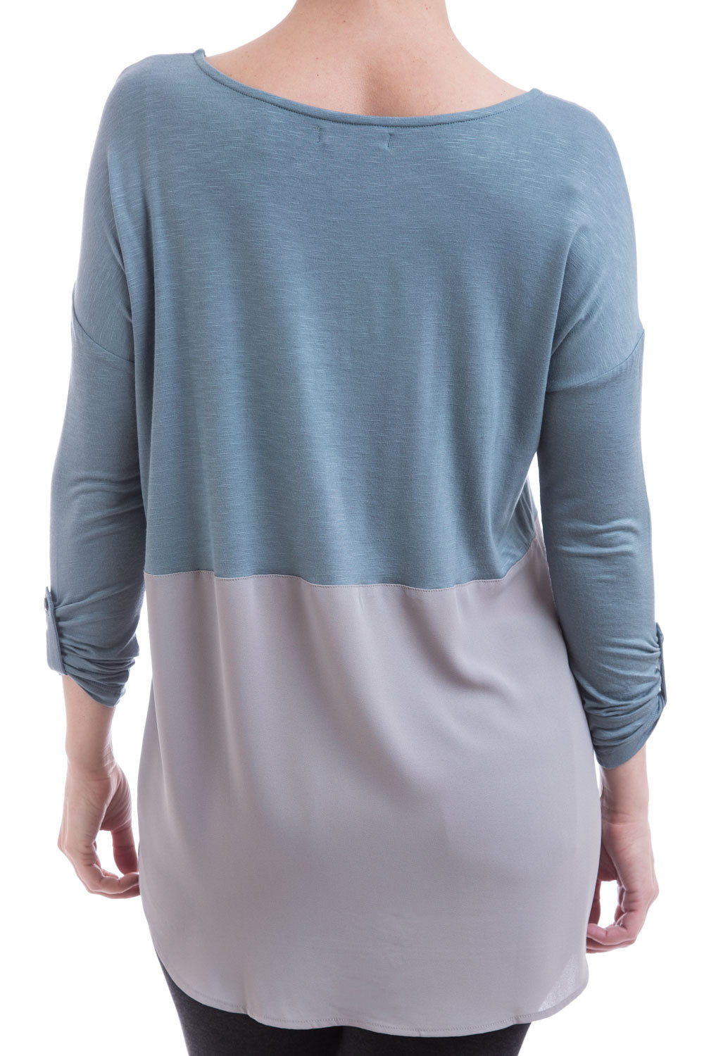 Type 2 Step Into Spring Top In North Blue