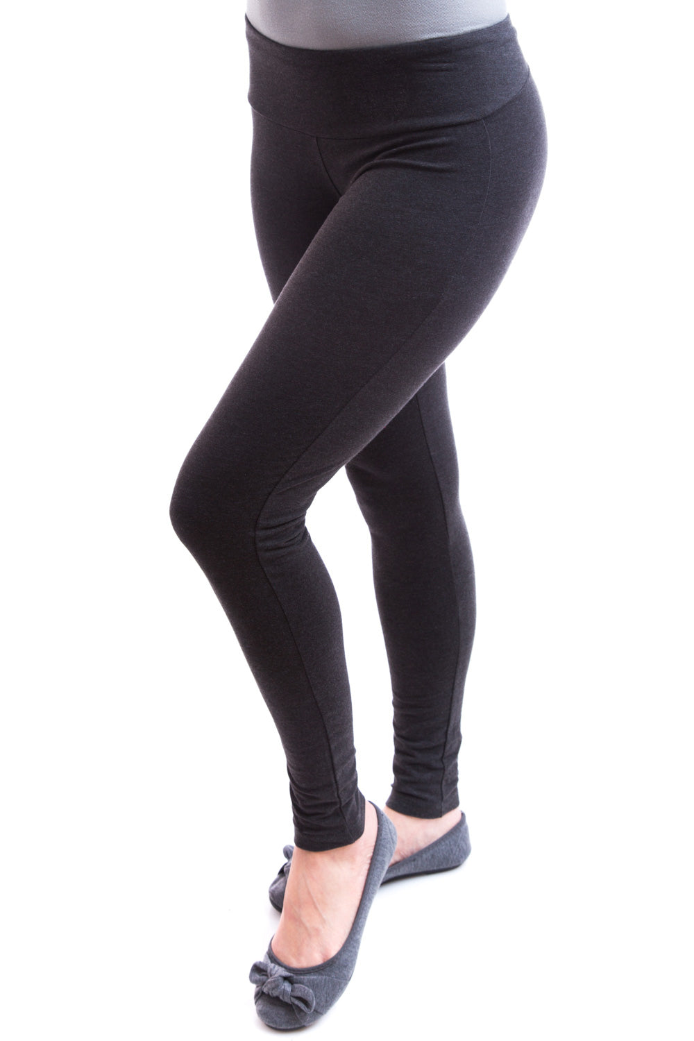 Type 2 Perfect Shape Slimming Leggings In Charcoal