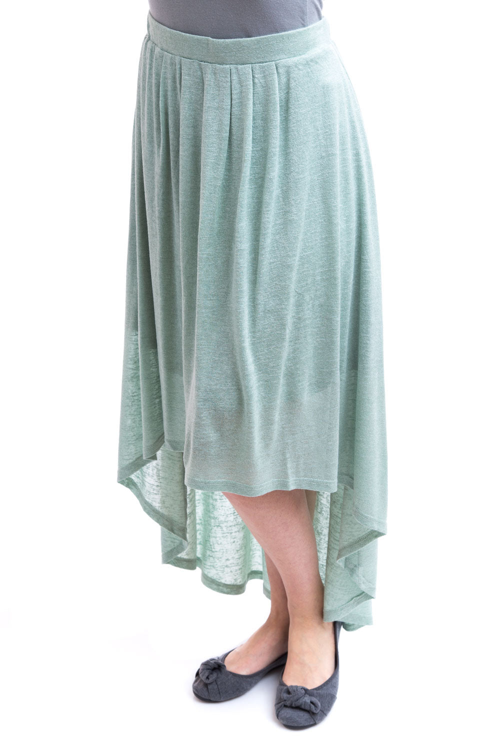 Type 2 Ascending Skirt in Misty Mint