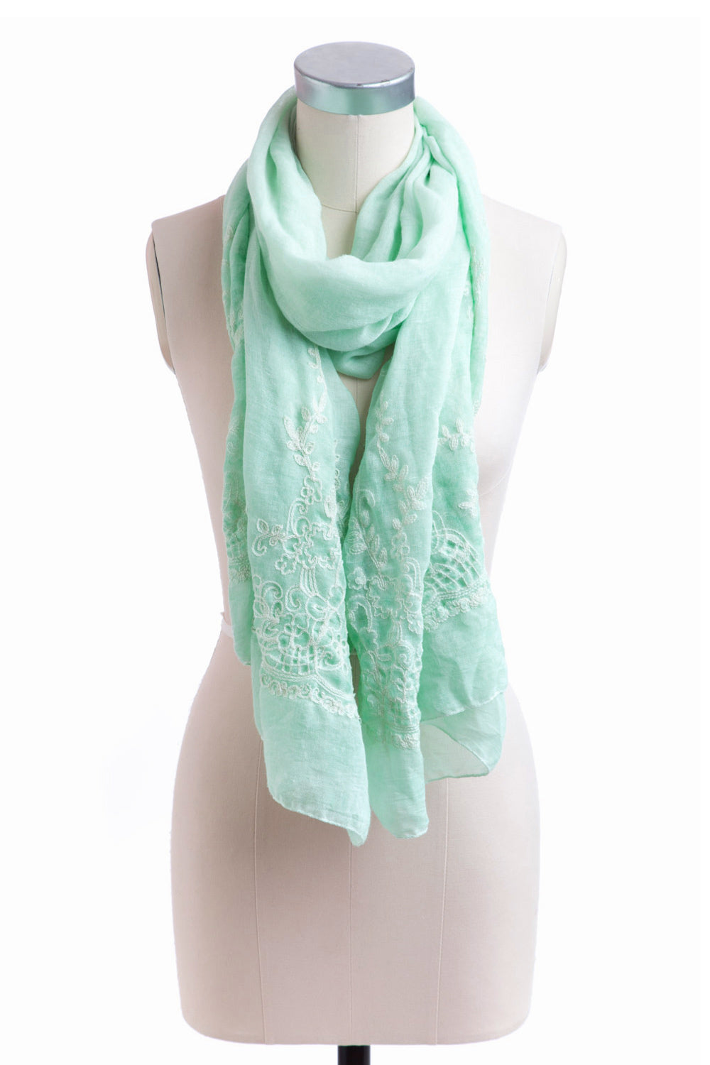 Type 2 A Healing Touch Scarf In Mint