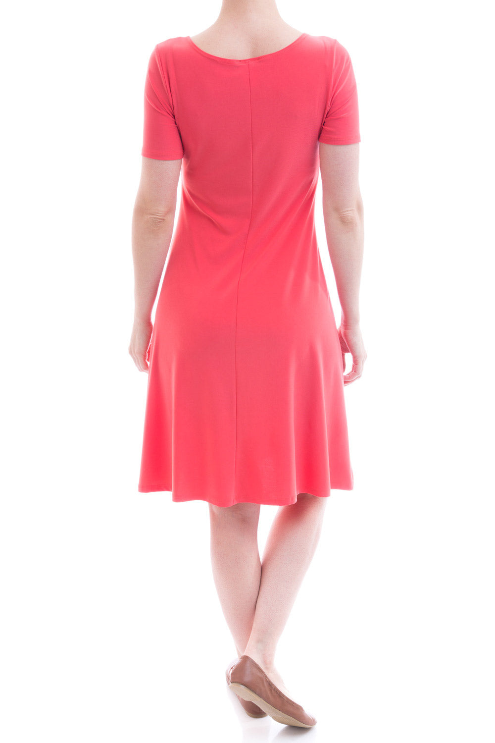 Type 1 Shinning For You Dress In Coral