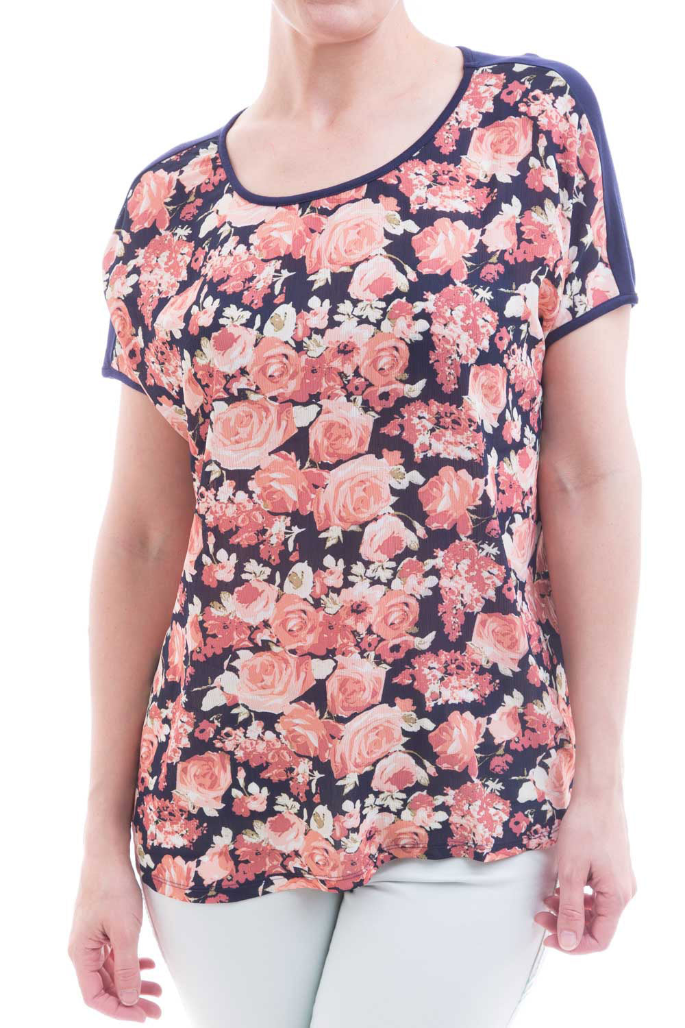 Type 2 Together Top In Bouquet Print