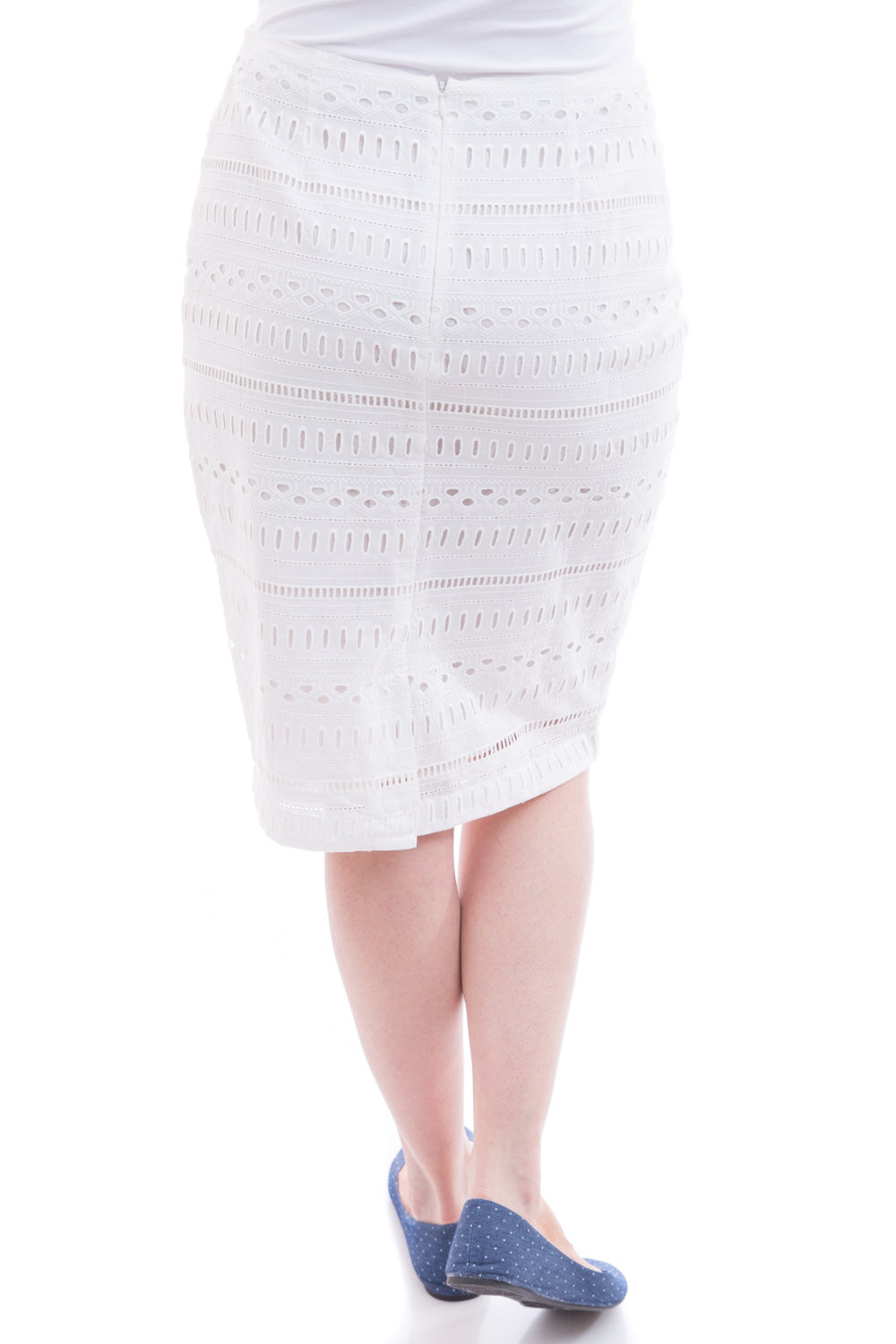Type 1 Just Cause Skirt in Egret