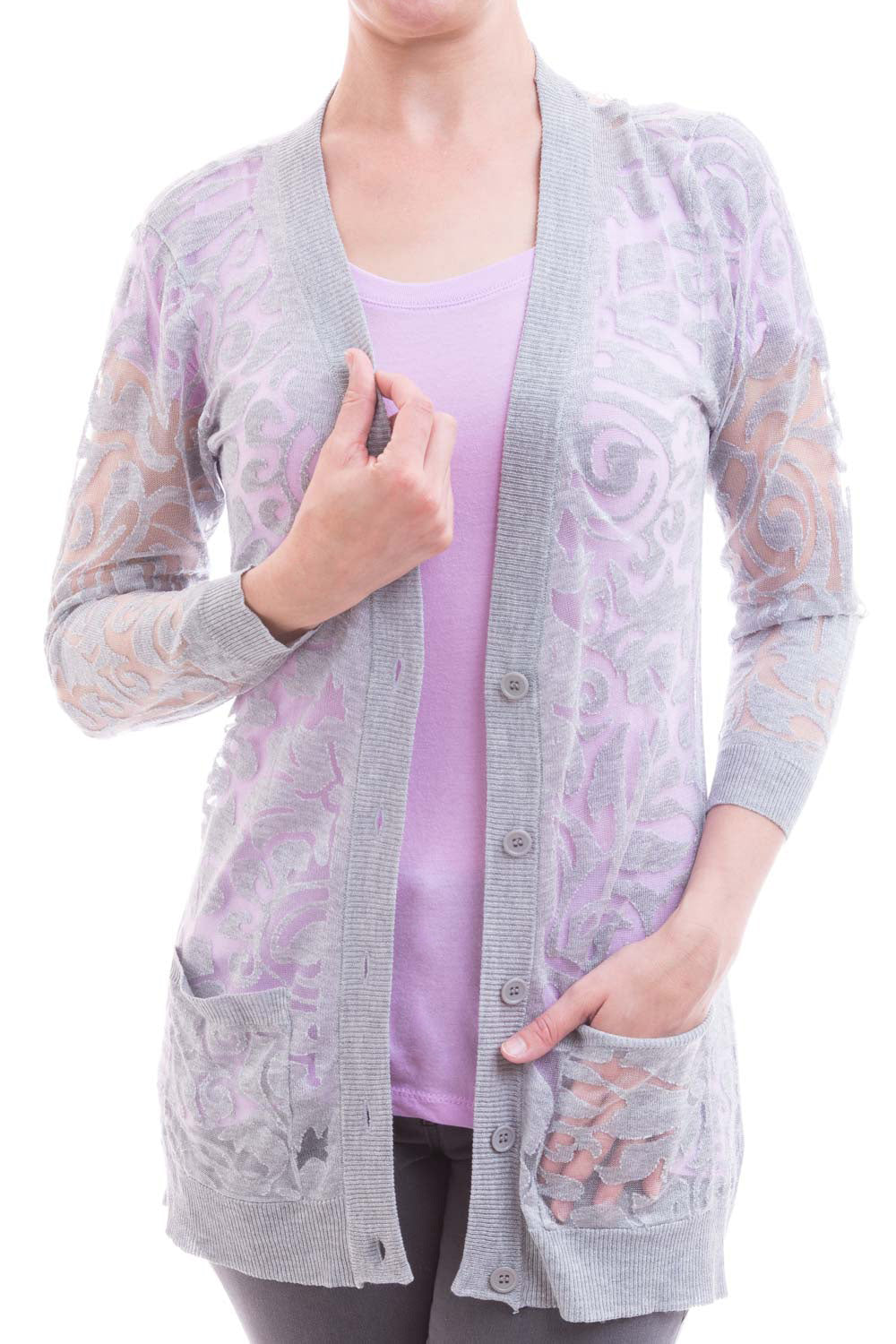 Type 2 Sheer Beauty Cardigan