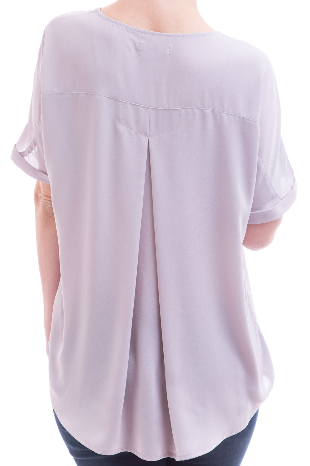 Type 2 Demure Lilac Gray Top
