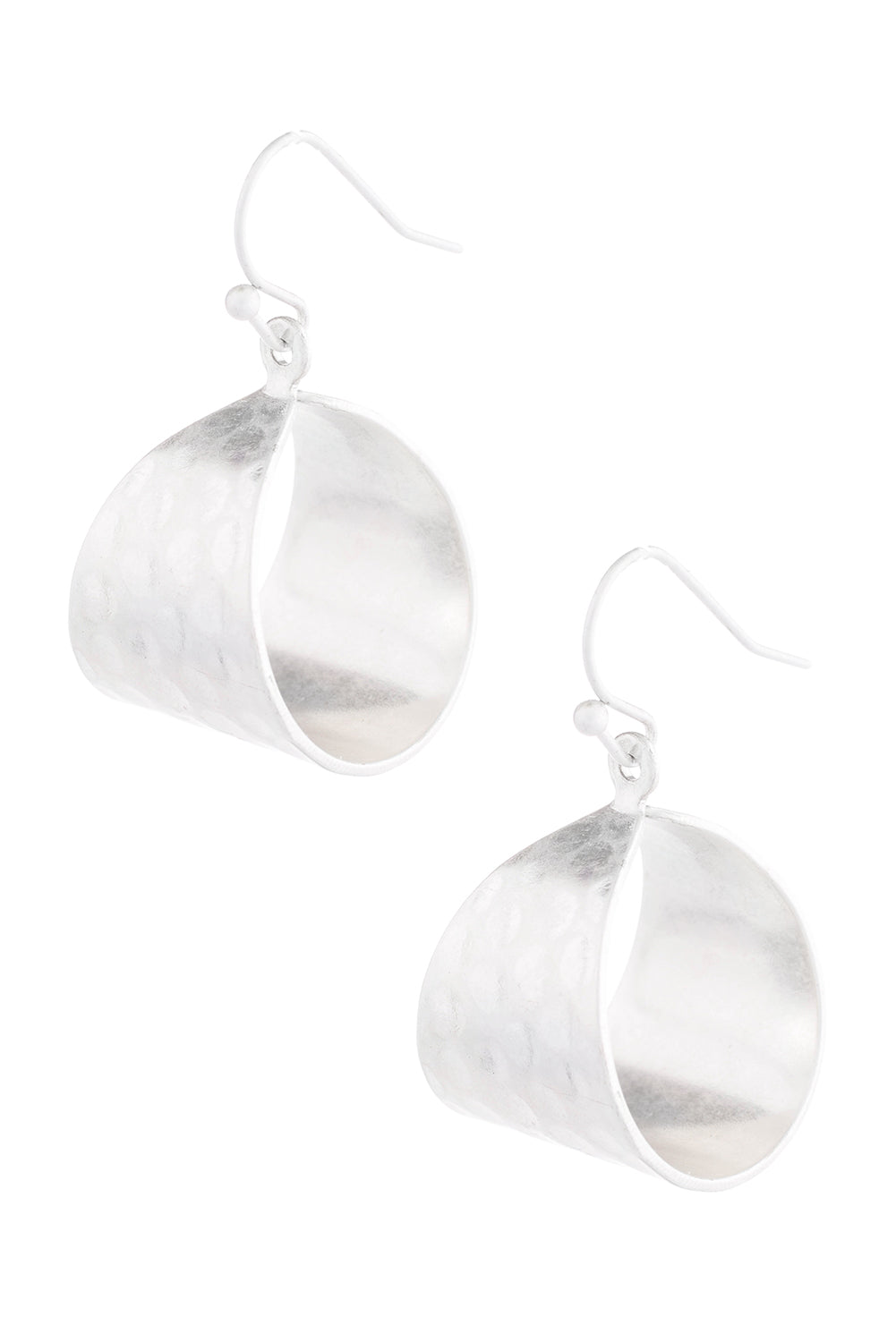 Type 2 Silky Silver Earrings