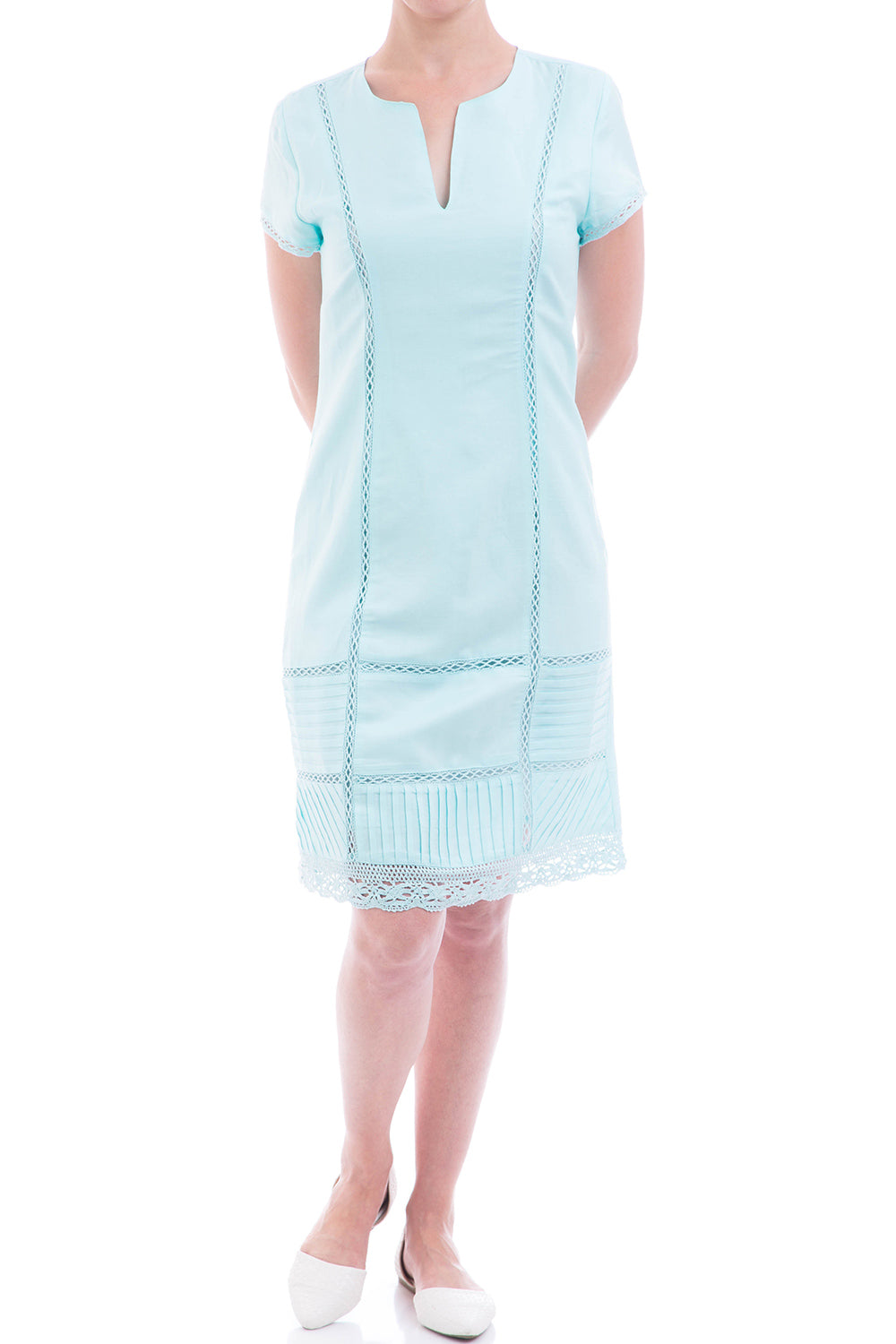 Type 1 Charming Baby Blue Dress