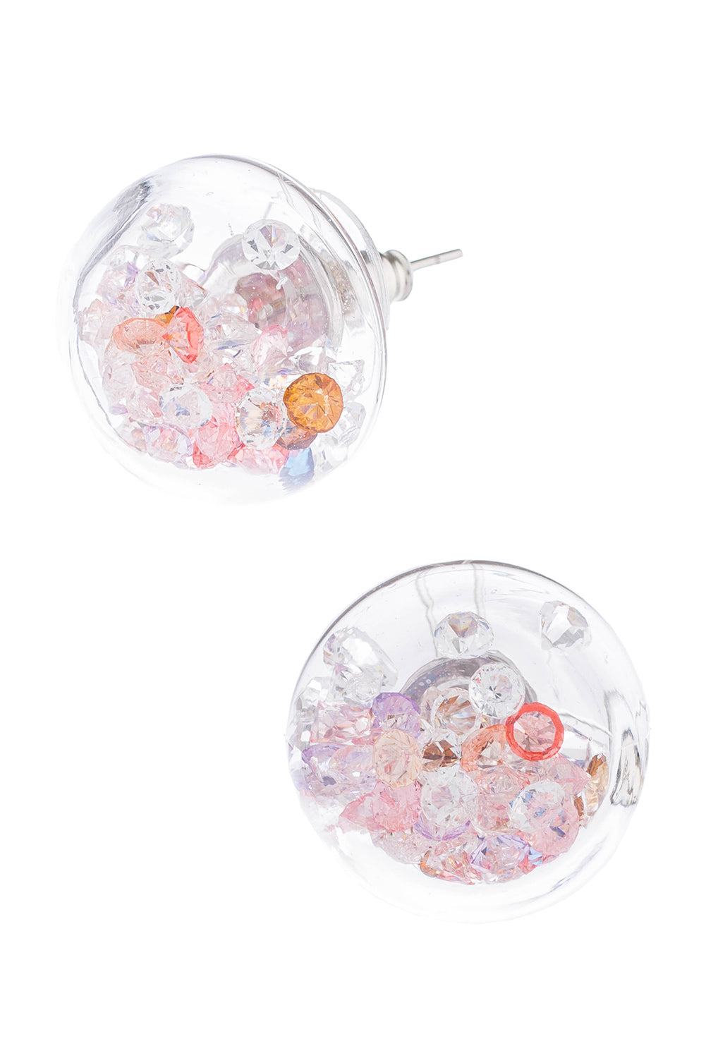 Type 1 Crystal Dome Earrings