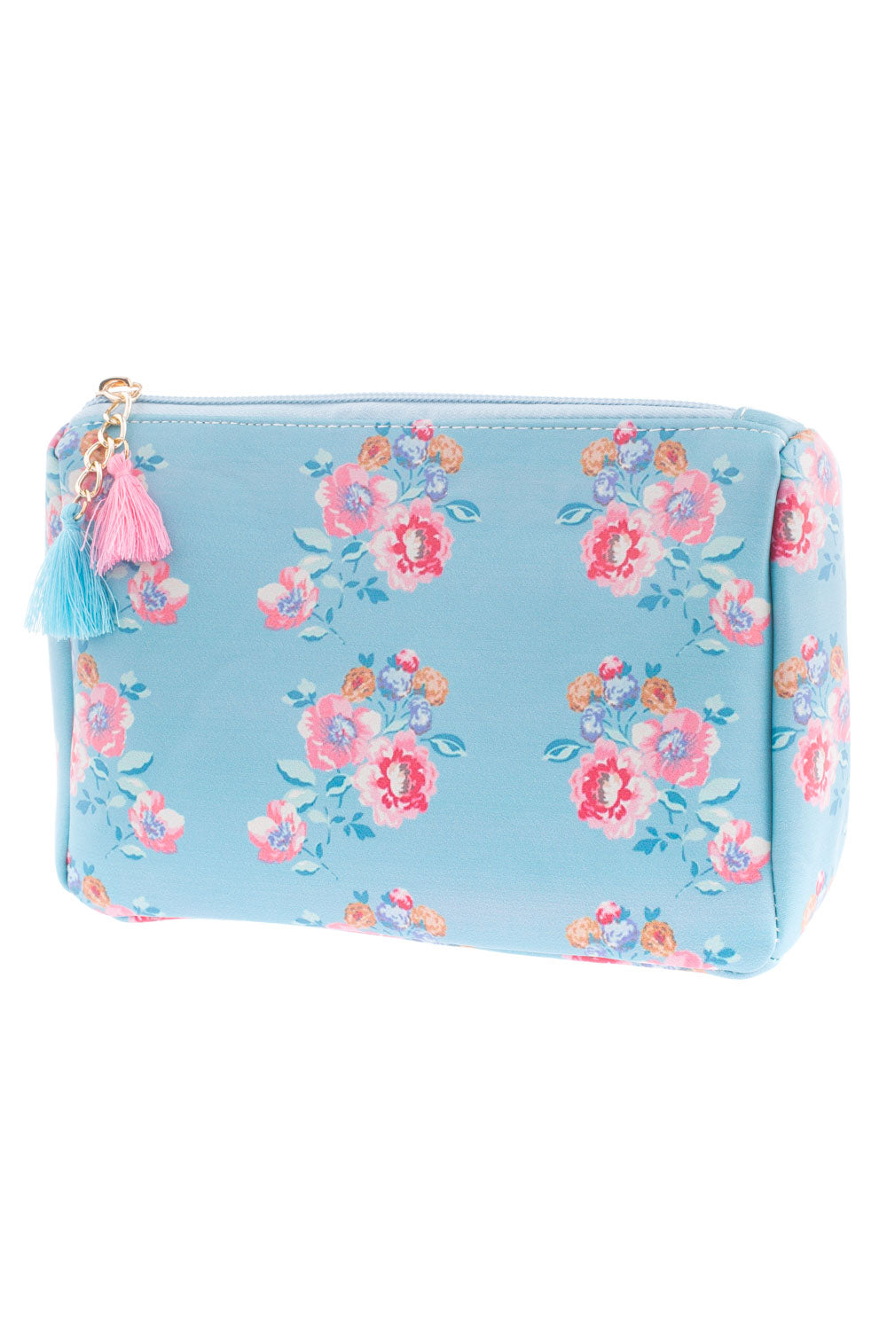 Type 2 To A Wild Rose Cosmetic Bag