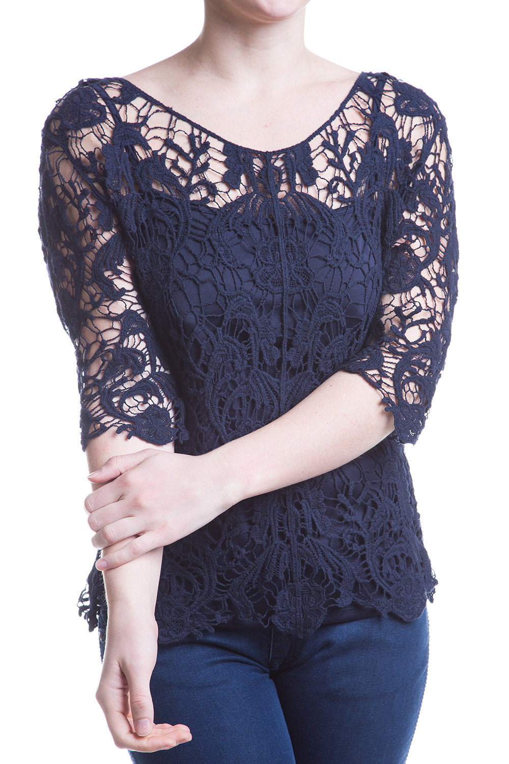 Type 2 Laced In Love Top