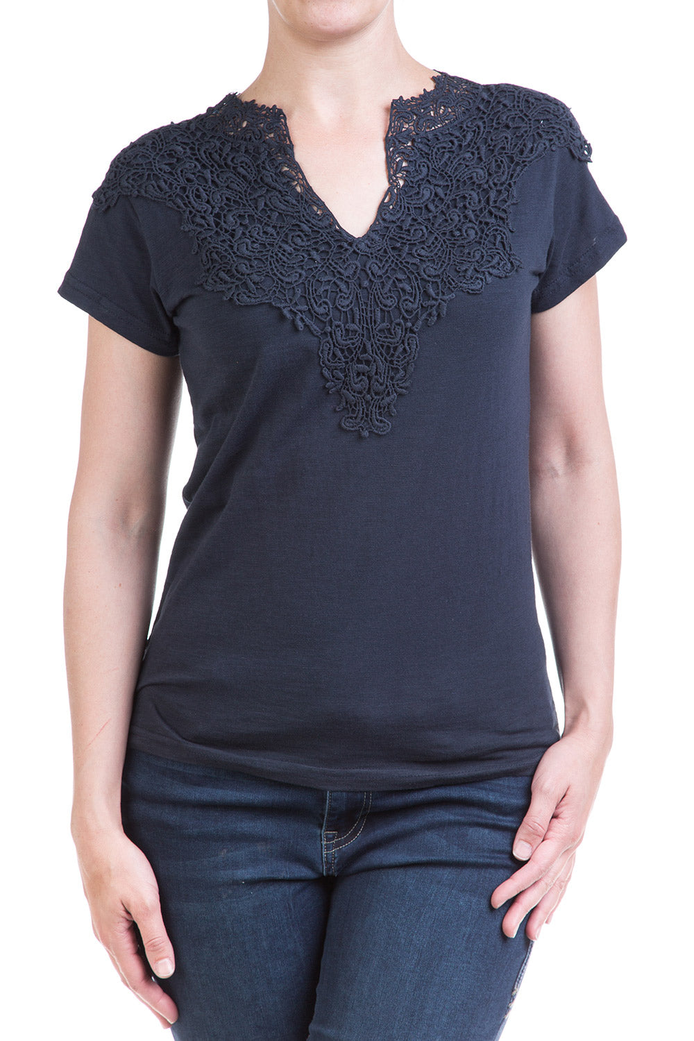 Type 2 Easy Elegance Top in Indigo