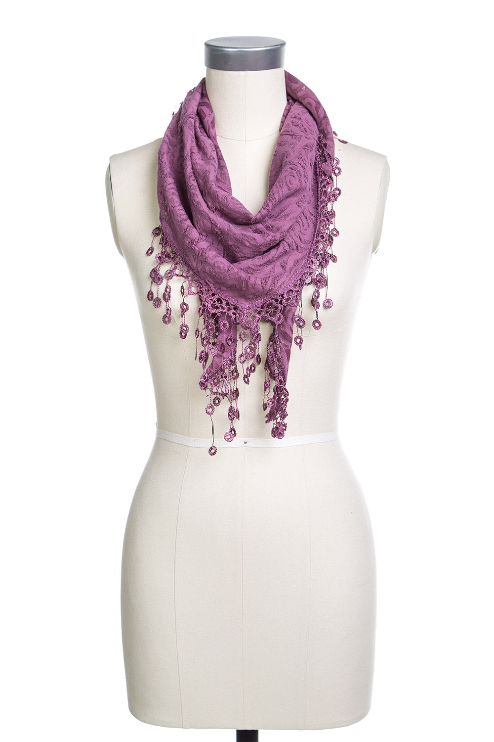 Type 2 Fancy Floral Scarf
