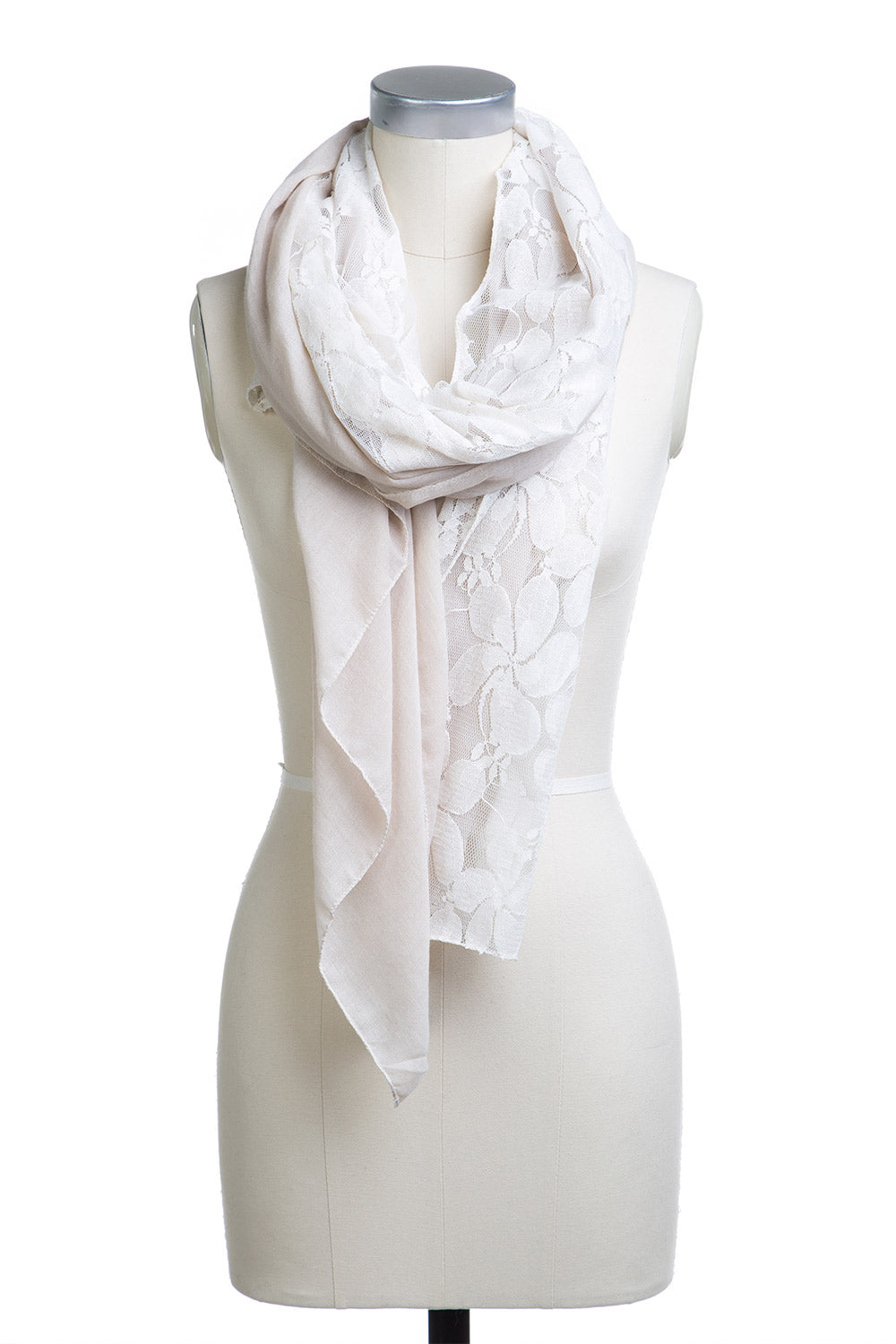 Type 2 Latte Lace Scarf