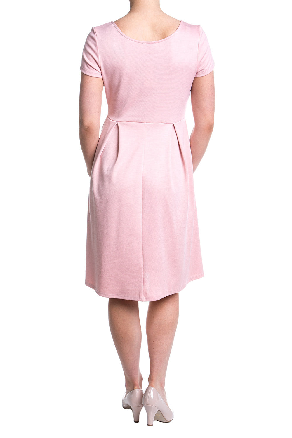 Type 2 To Life Dress In Pale Rose