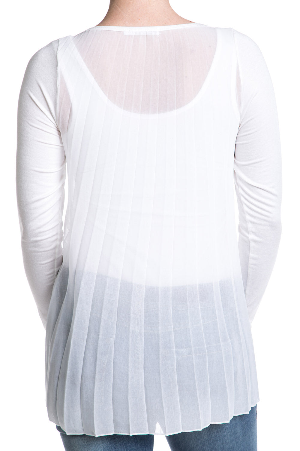 Type 1 Sheer Pleats Top