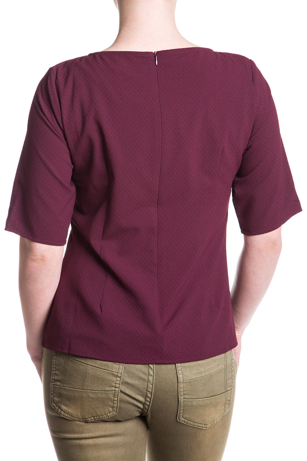 Type 3 Burgundy Mystery Top