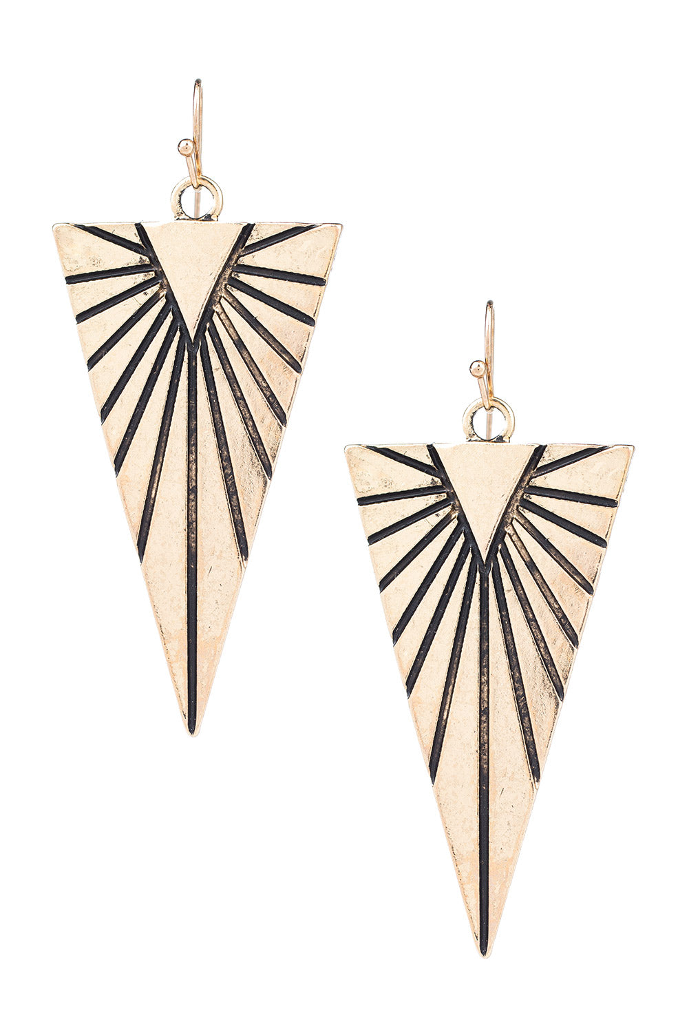 Type 3 Triangle Sunrise Earrings