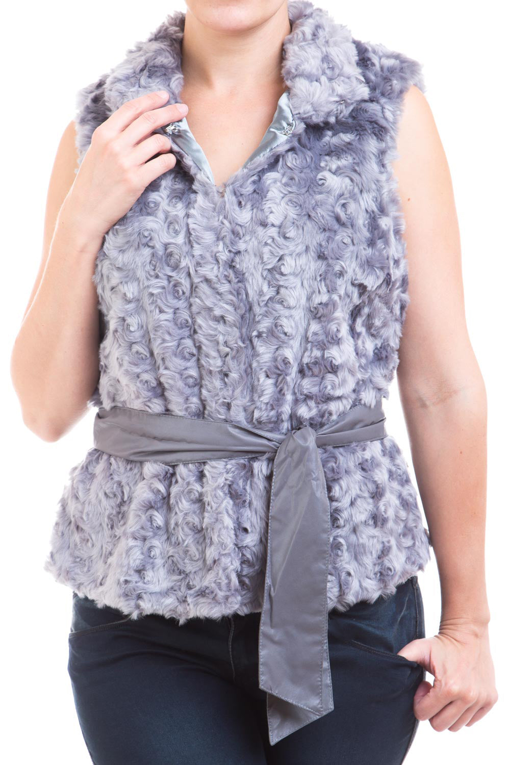 Type 2 Let's Cuddle Vest In Gray