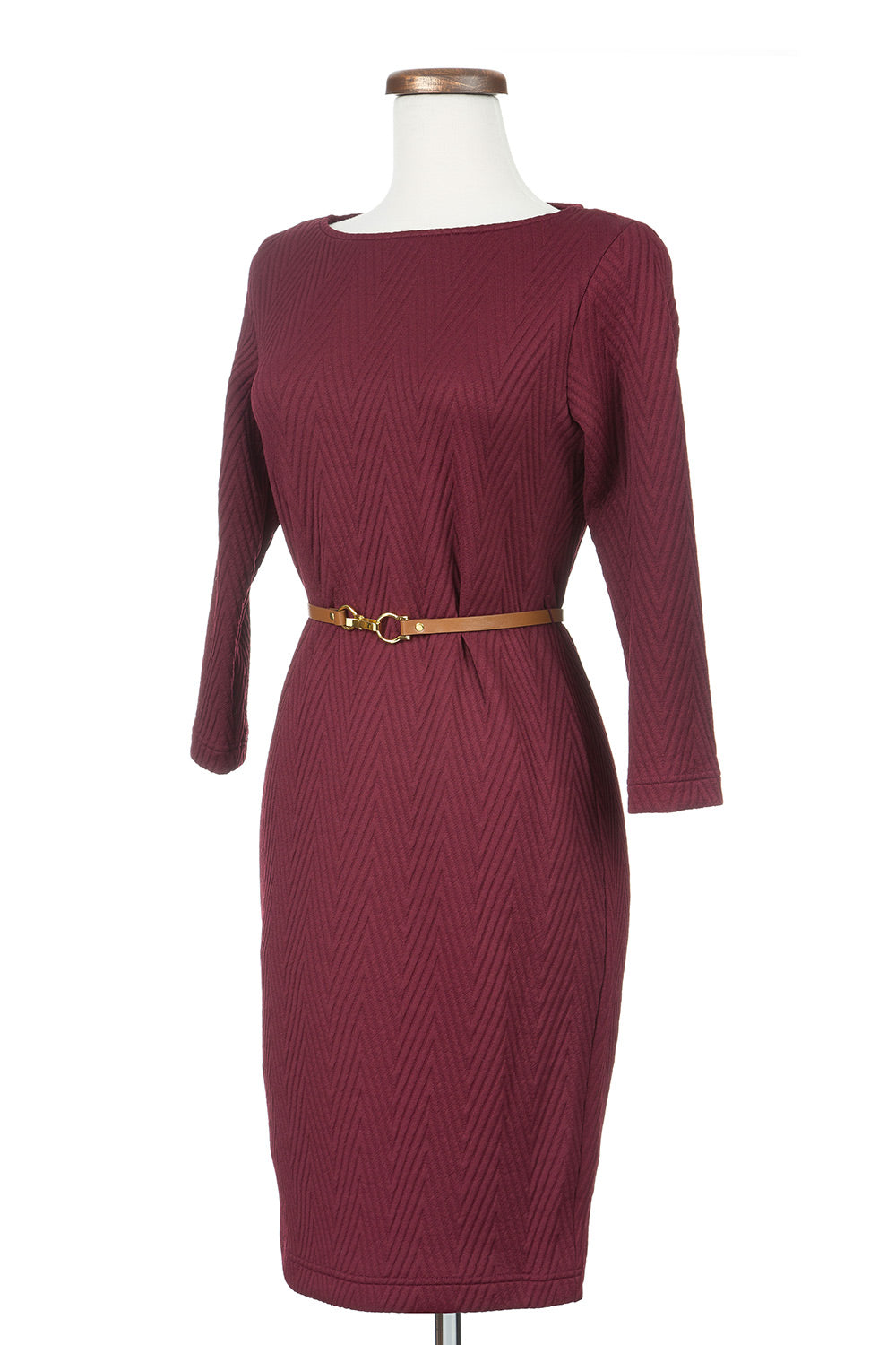 Type 3 Cocktail Party Dress in Burgundy
