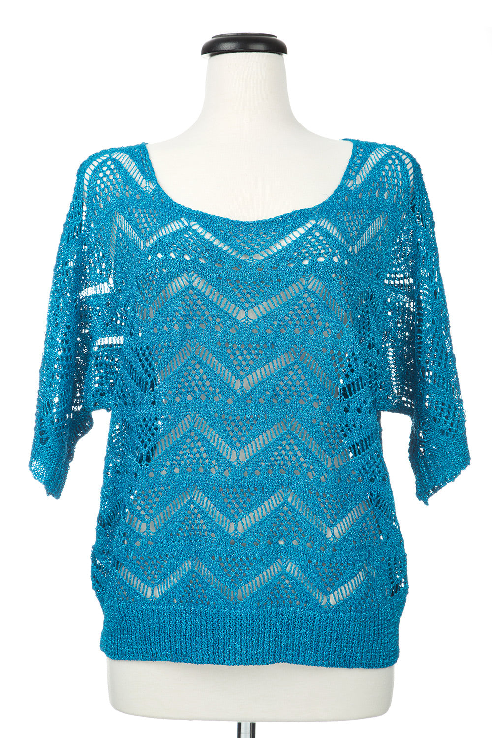 Type 4 Glitz and Glam Top in Blue